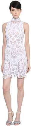 Jonathan Simkhai Lace & Tulle Mini Dress