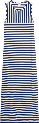 Iris and Ink Striped cotton maxi dress $80 thestylecure.com