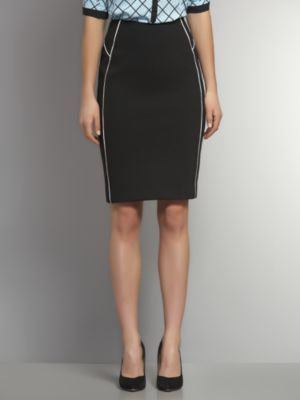 New York & Co. Piped CityKnit Pencil Skirt
