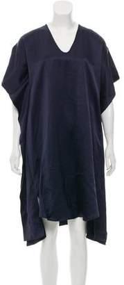 Zero Maria Cornejo Draped Oversize Dress