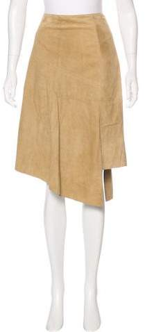 Michael Kors Suede Knee-length Skirt