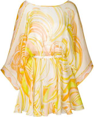 Emilio Pucci printed mini kaftan dress