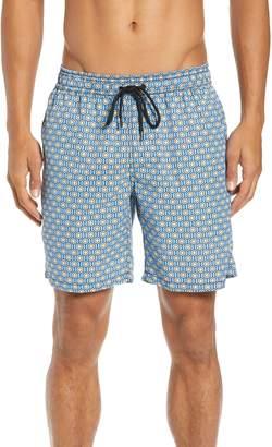 Mr.Swim Mr. Swim Geometric Swim Trunks