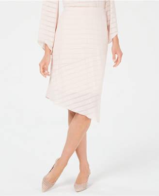 2e2125fd71 Alfani Petite Novelty Pointed-Hem Midi Skirt