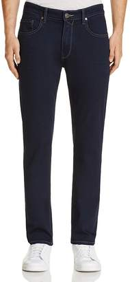 PAIGE Federal Slim Fit Jeans in Finn $199 thestylecure.com
