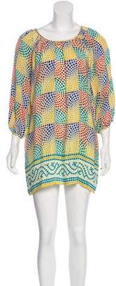 Tolani Printed Silk Dress