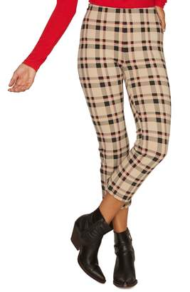 Sanctuary Mod Crop Plaid Leggings