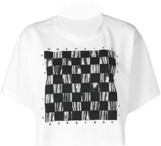 MM6 MAISON MARGIELA (エムエム6 メゾン マルジェラ) - Mm6 Maison Margiela グラフィック Tシャツ