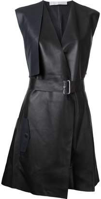 Dion Lee Trench leather dress
