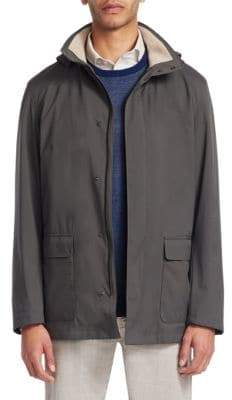 Loro Piana Hooded Cashmere Jacket
