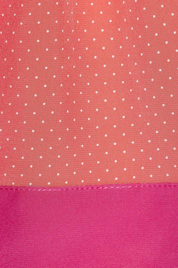 Vanessa Bruno Swiss-dot silk mini skirt