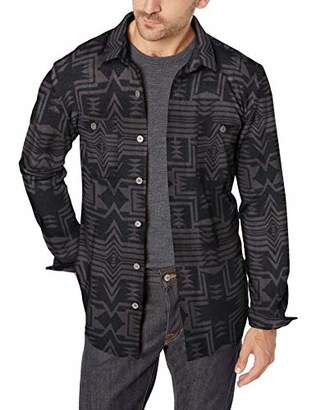 UNIONBAY Men's Long Sleeve Button-up Polar Fleece Shirt Jacket