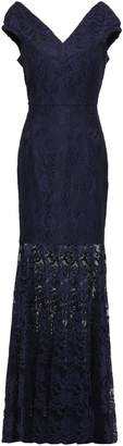 Milly Layla Fluted Lace Gown