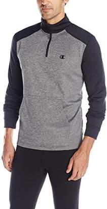 Champion Men's Performance Fleece Quarter-Zip Pullover