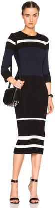 James Perse Stripe Dress $395 thestylecure.com