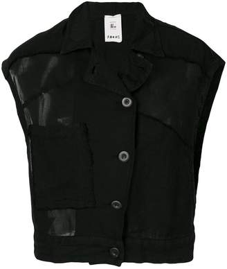Lost & Found Rooms sleeveless jacket