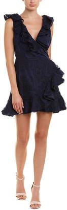 BB Dakota Harlow Faux Wrap Dress