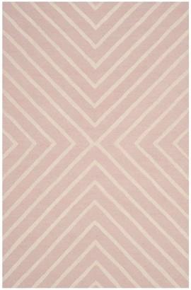 Safavieh Kid's X Pattern Hand-Tufted Wool Area Rug