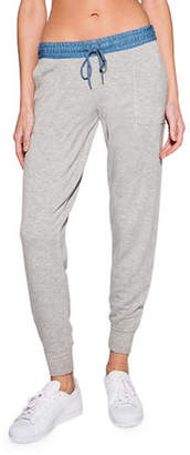 PJ Salvage Denim Blues Sweatpant
