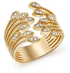 Bloomingdale's Diamond Multi Row Beaded Band Ring in 14K Yellow Gold, .25 ct. t.w. - 100% Exclusive