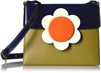 Orla Kiely Giant Flower Leather Fairfield Bag