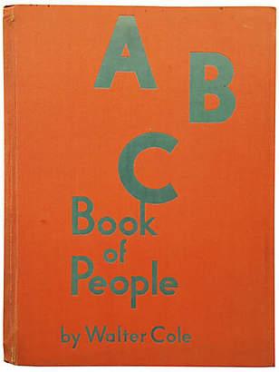 One Kings Lane Vintage ABC Book of People - 1932