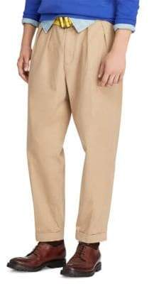 Polo Ralph Lauren Relaxed Brushed Twill Pleated Pants