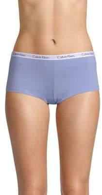 Calvin Klein Stretch-Cotton Logo Boyshorts