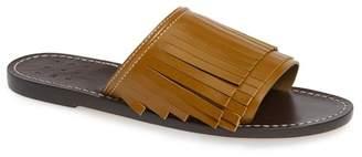 Taos Trademark Kiltie Slide Sandal