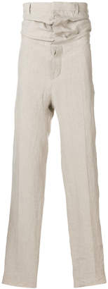 Y/Project Y / Project draped high rise trousers