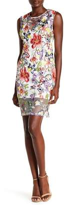Alexia Admor Floral Embroidered Dress