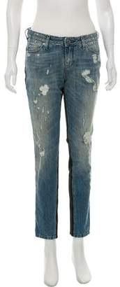 IRO Rayley Mid-Rise Distressed Jeans