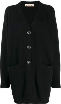 Marni long-length knitted cardigan