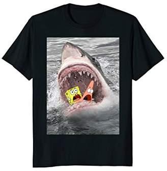 Nickelodeon Spongebob SquarePants Shark Attack Humorous T-Shirt