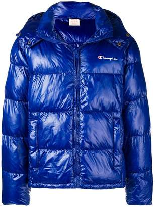 Champion hooded padded jacket