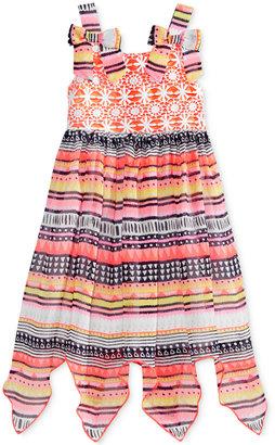 Blueberi Boulevard Crocheted Lace Multi-Print Dress, Toddler & Little Girls (2T-6X) $44 thestylecure.com