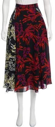 Tanya Taylor Jackson Midi Skirt w/ Tags