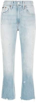Polo Ralph Lauren Chrystie Paint Splatter Jeans
