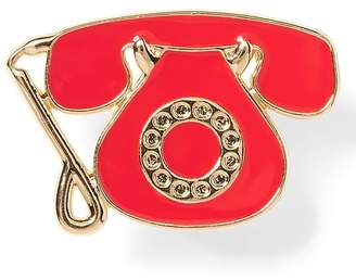 Banana Republic Telephone Brooch
