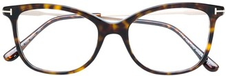 Tom Ford cat eye frame glasses