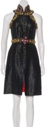Chanel Paris-Shanghai Embellished Dress
