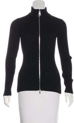 Prada Sport Long Sleeve Knit Jacket