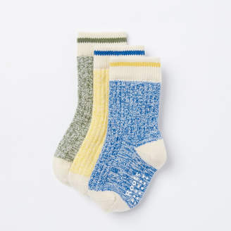 Roots Toddler Cabin Sock 3 Pack