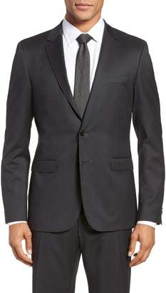 BOSS Ryan CYL Extra Trim Fit Solid Wool Blazer