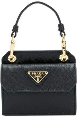 Prada top handle min tote