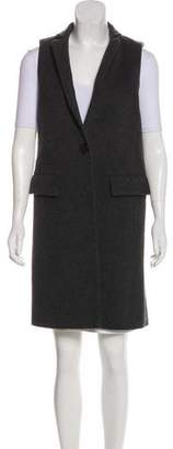 Intermix Wool Longline Vest