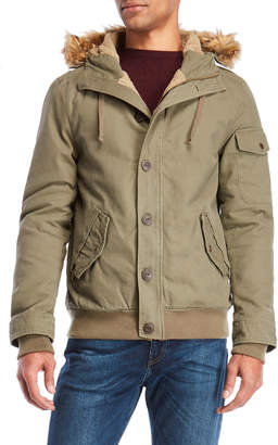 Weatherproof Faux Fur Trim Hooded Parka