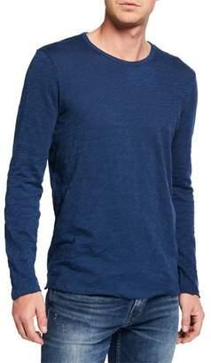 ATM Anthony Thomas Melillo Men's Destroyed Featherweight Slub Jersey T-Shirt