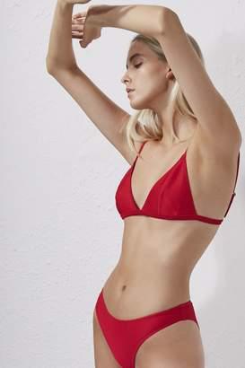 French Connection Ottoman Triangle Bikini Top