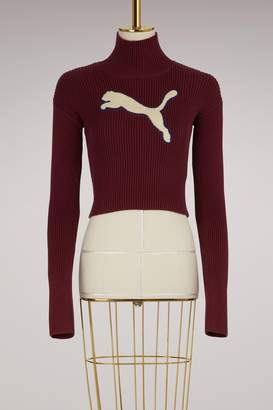 FENTY PUMA by Rihanna Long sleeve loose turtleneck sweater